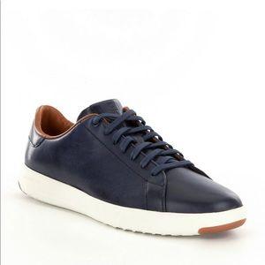 Mens' Cole Haan Grandpro navy blue sneaker
